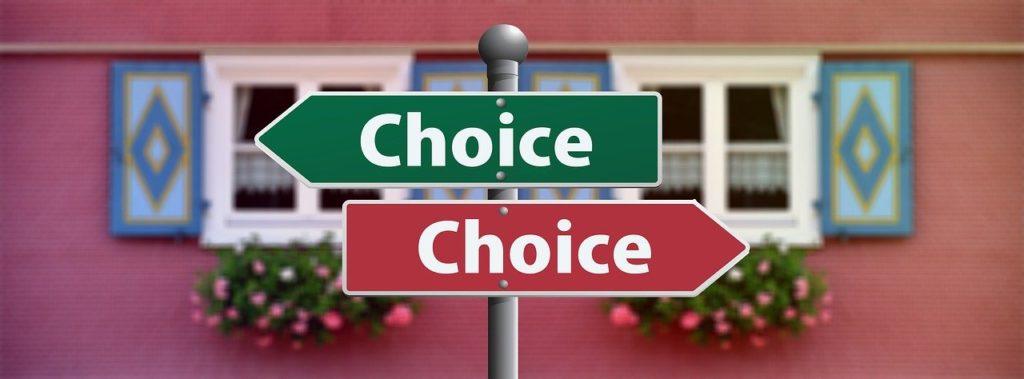 Oser faire des choix